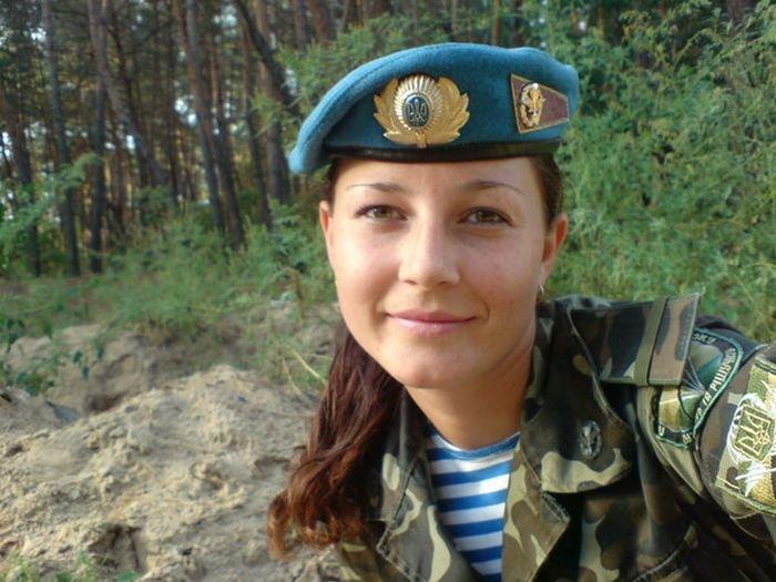 Девушки в армии Украины (35 фото)