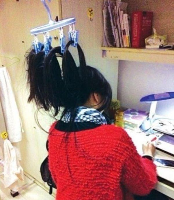 Подготовка к сессии китайских студентов (9 фото)