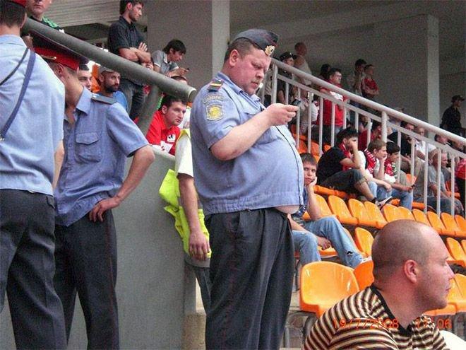 Российские полицейские (18 фото)