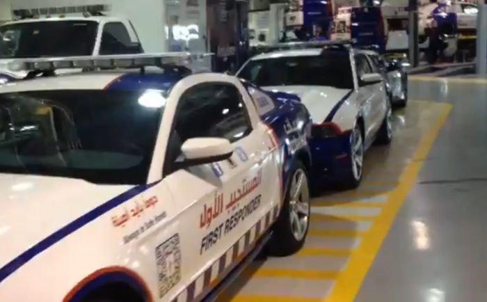 Автомобили скорой помощи в Дубае (18 фото)