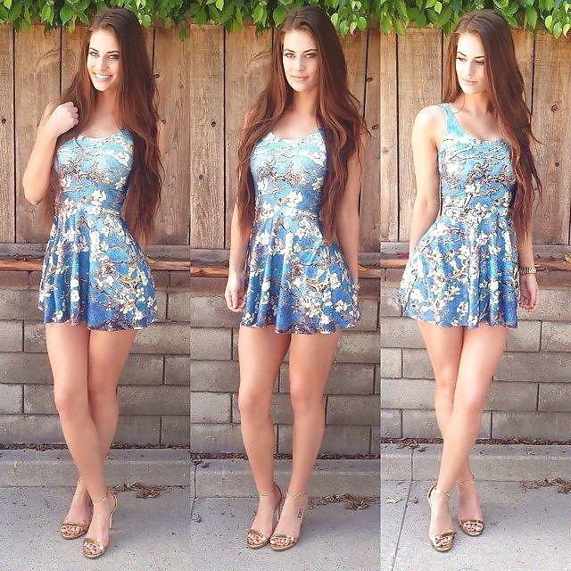 Девушка, которой идет любая одежда (21 фото)