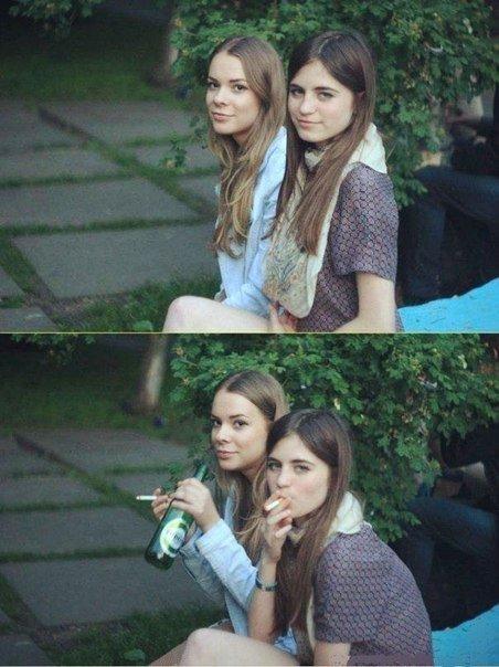 Девушки в социальных сетях (21 фото)