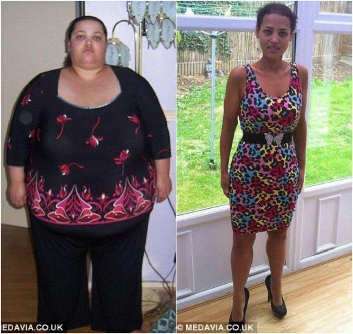 Девушка похудела на 127 килограмм (12 фото)