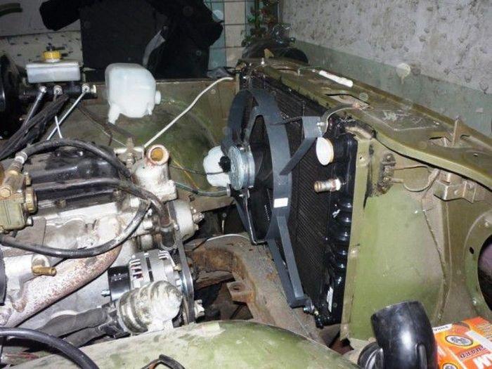 Переделка старого УАЗика (24 фото)