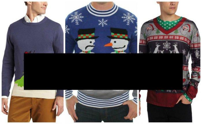 Тематические свитера на зиму (9 фото)