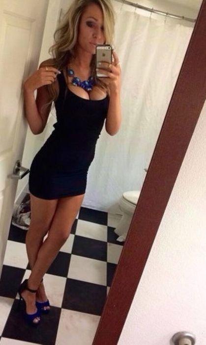 Девушки в платьях (34 фото)