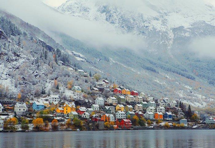 Пейзажи Норвегии (46 фото)