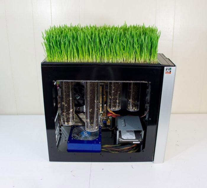 Экологический моддинг компьютера (20 фото)