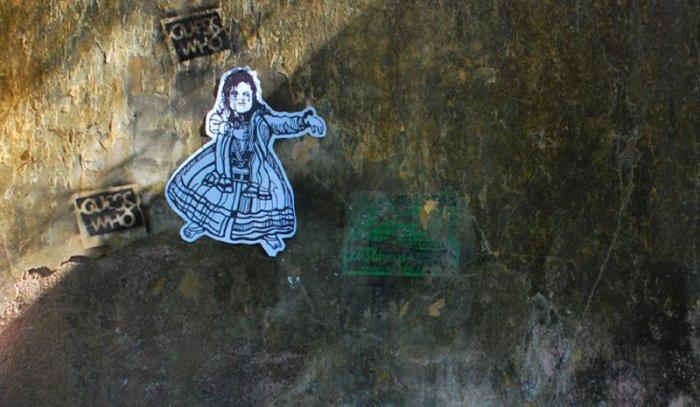 Прикольные граффити (20 фото)
