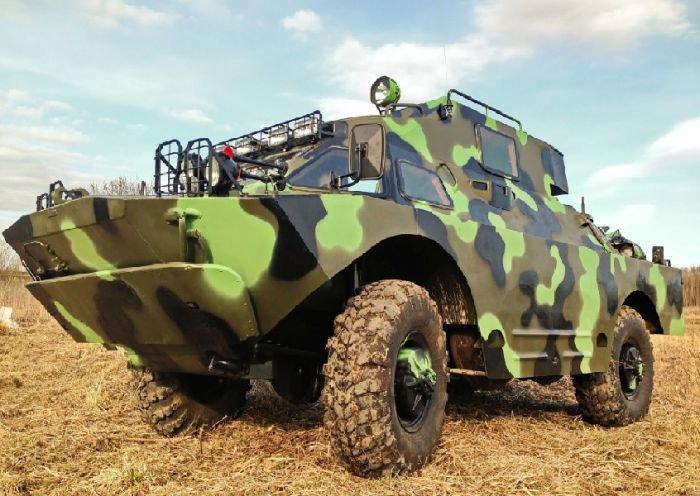 Роскошная версия броневика БРДМ-2 (14 фото)