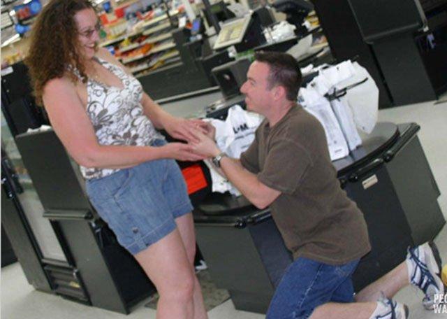 Люди в американских супермаркетах (32 фото)