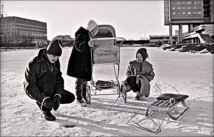 Юго-запад Москвы в 1960-80х годах (37 фото)
