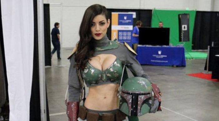 Фанатки Звездных войн (42 фото)
