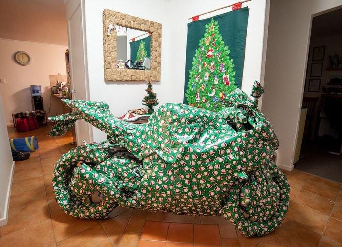 Подарок на Рождество (2 фото)