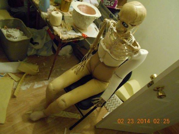 Самодельная секс-кукла (13 фото)