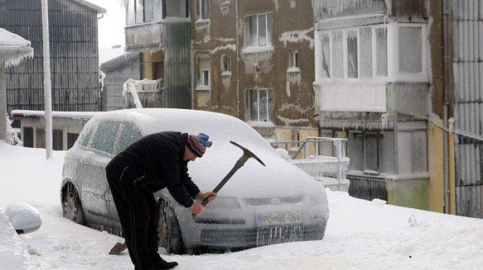 Ледяной дождь в Словении (12 фото)