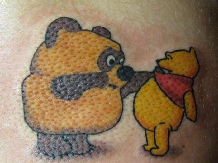 Русские татуировки (22 фото)