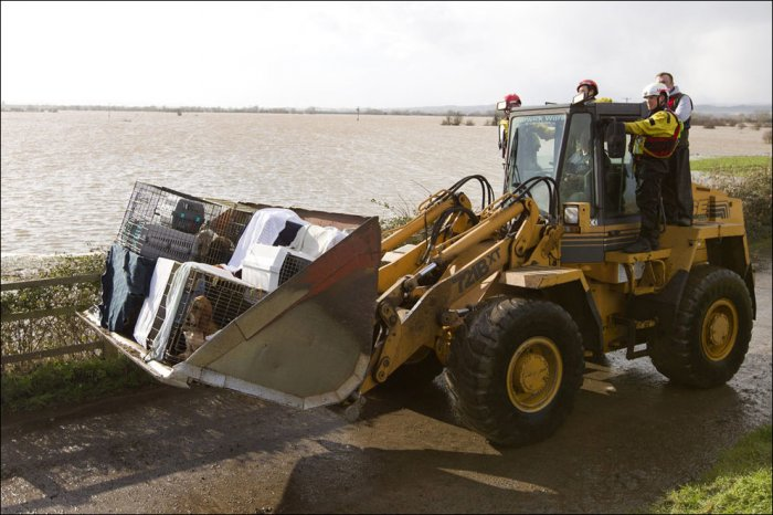 Наводнение в Великобритании (22 фото)