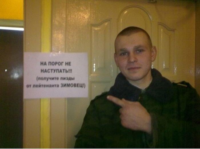 Суровый лейтенант Зимовец (6 фото)