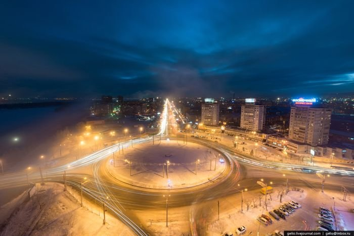 Красноярск зимой (47 фото)