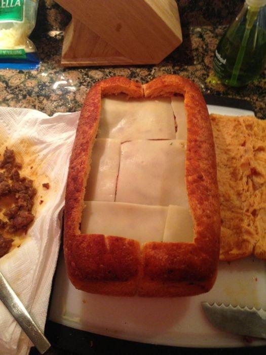 Огромный бутерброд (23 фото)