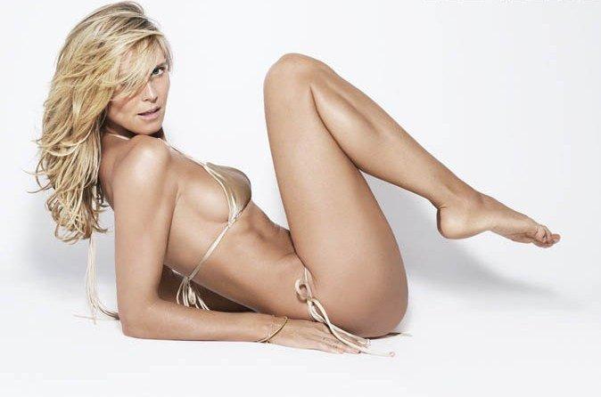 Heidi klum nute, hot girls play