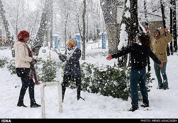 Иран завалило снегом (45 фото)