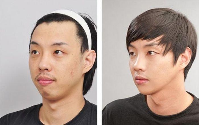 Девушки из южной кореи до и после операции