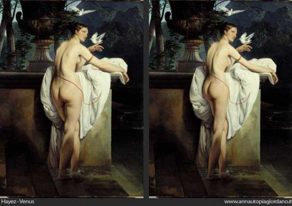 Осовремененные картины с обнаженными женщинами (11 фото)