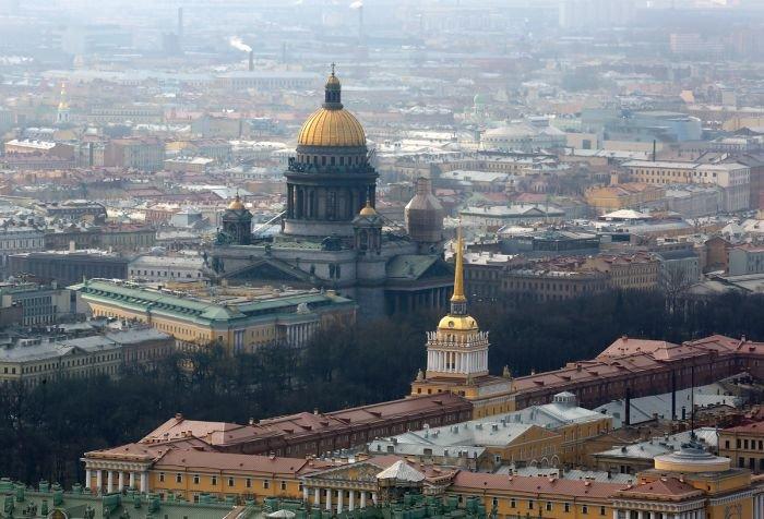 Санкт-Петербург с высоты птичьего полета (48 фото)