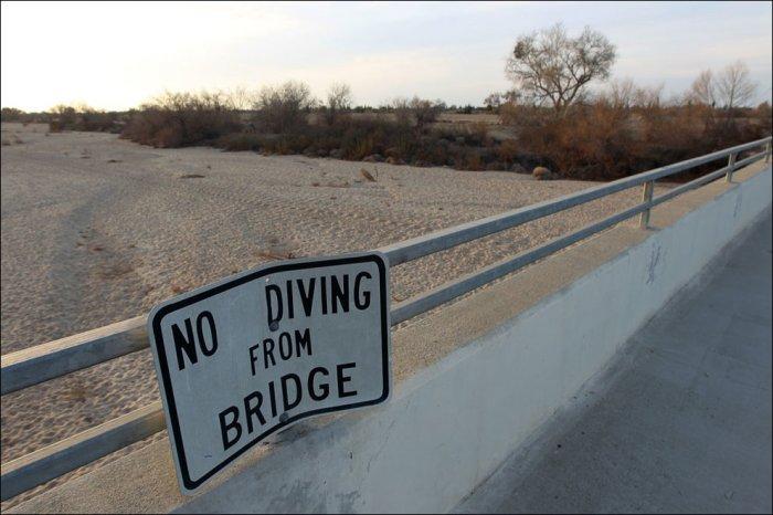 В Калифорнии сильнейшая засуха (17 фото)