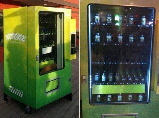 Автомат по продаже марихуаны (4 фото)