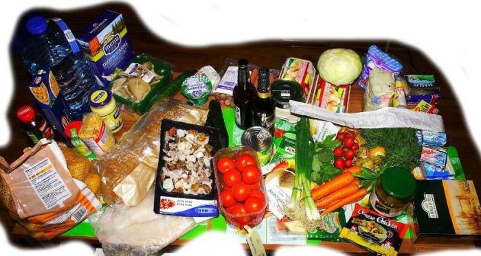 Цены на продукты в Чехии (16 фото)