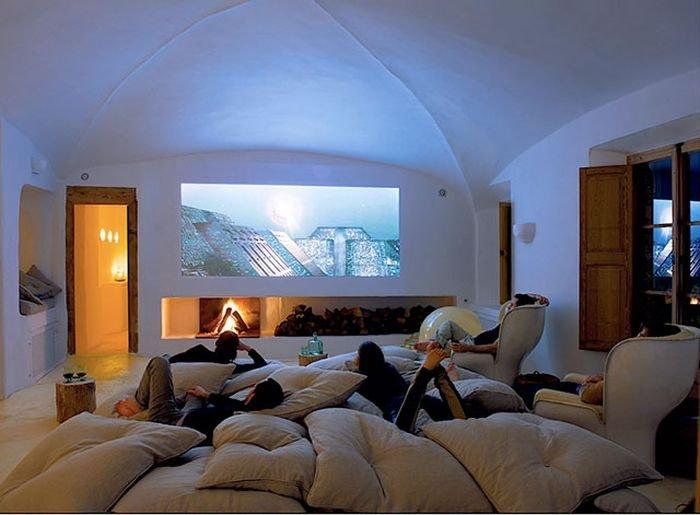 Домашние кинотеатры (32 фото)