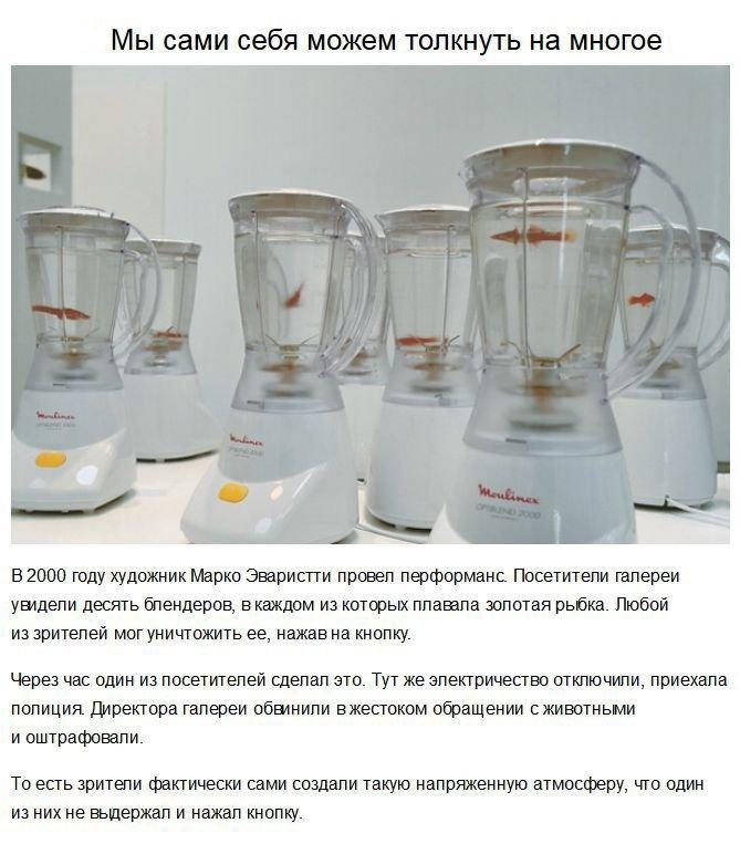 Эксперименты с человеческой психикой (7 фото)