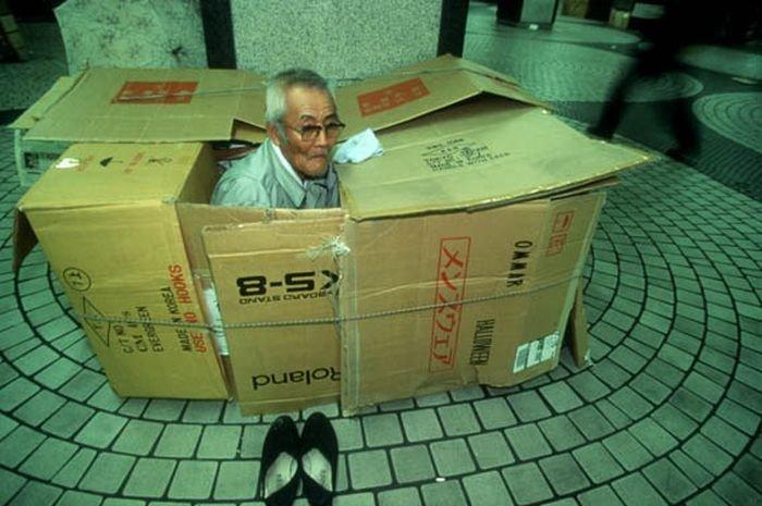 Жизнь в коробке (16 фото)