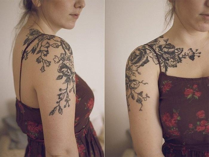 Необычные татуировки (50 фото)