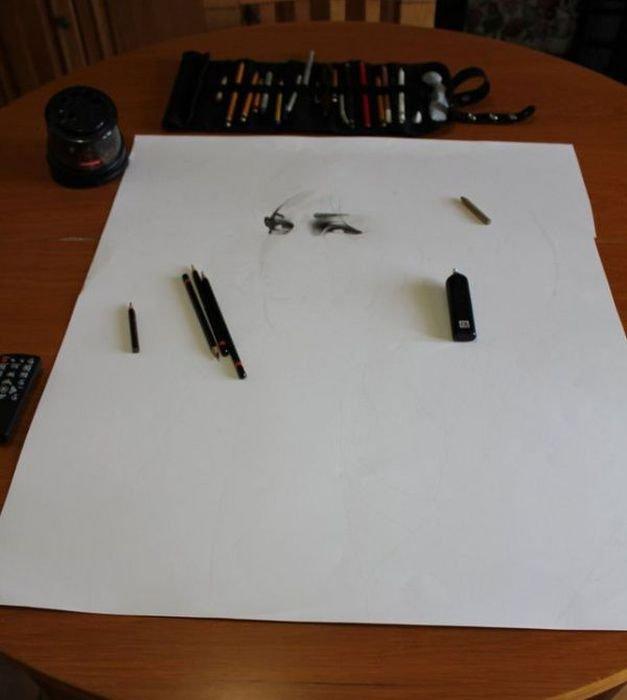 Создание реалистичного рисунка (20 фото)