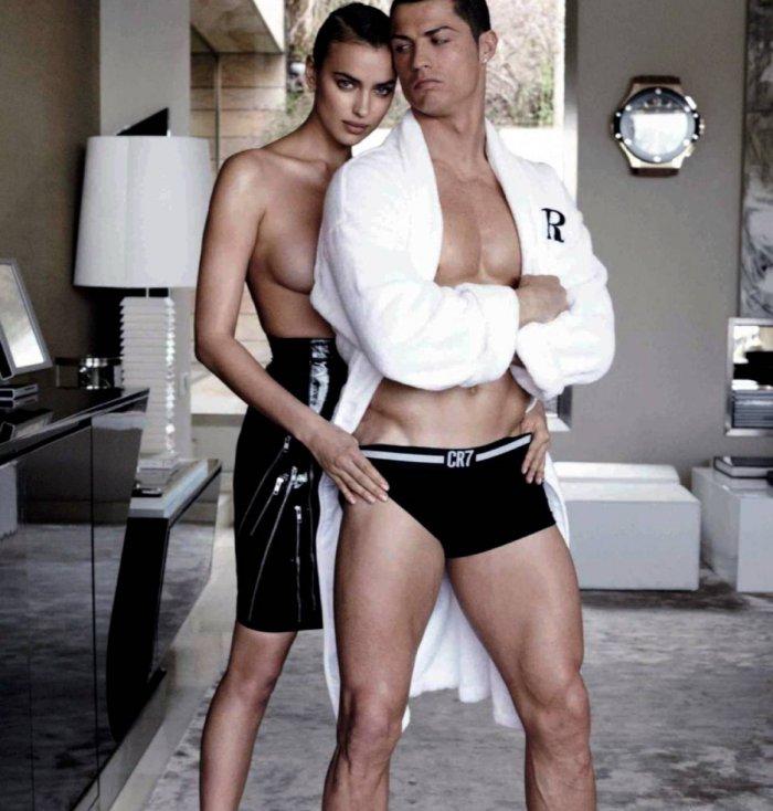 Ирина Шейк и Криштиано Роналдо (7 фото)