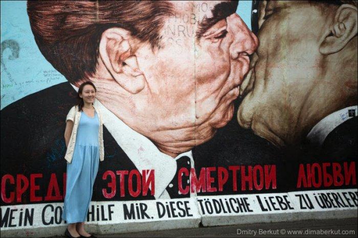 Граффити на Берлинской стене (26 фото)