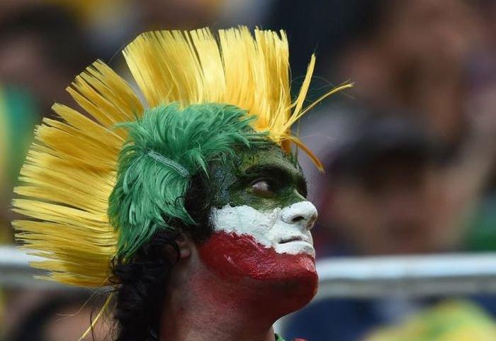 Фанаты на Чемпионате мира (59 фото)