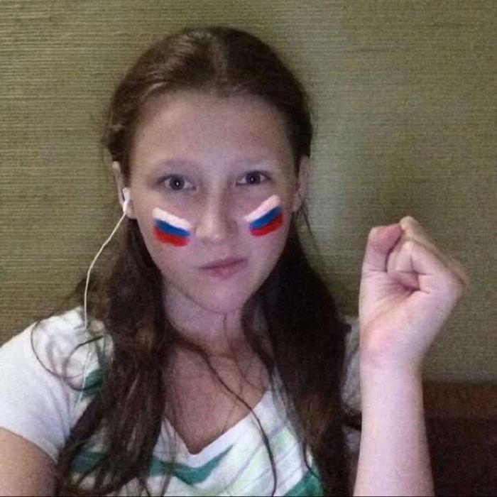 Российские болельщицы (74 фото)