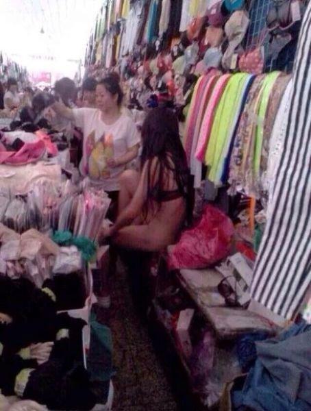 Правильная продавщица (9 фото)