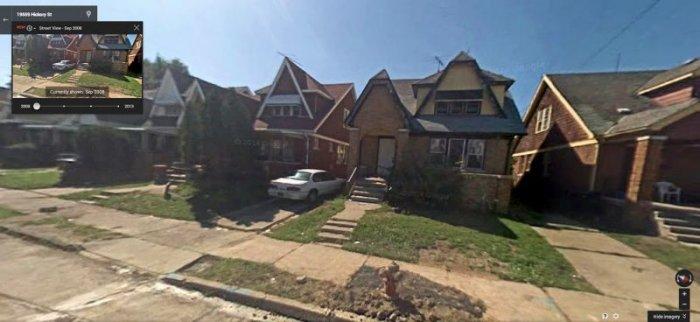 Как пустеет Детройт (20 фото)