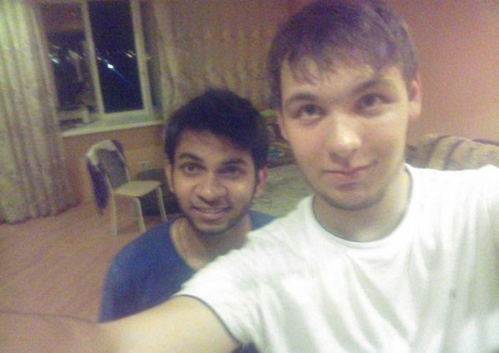 Жизнь студента из Индии в России (14 фото)