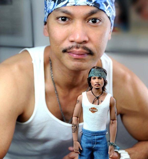 Мастер кукольного макияжа (14 фото)
