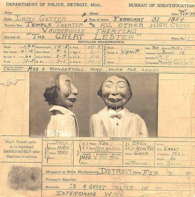 Кукла-преступник (4 фото)