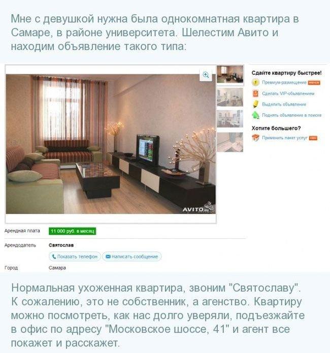 Как обманывают людей с арендой квартир (9 фото)