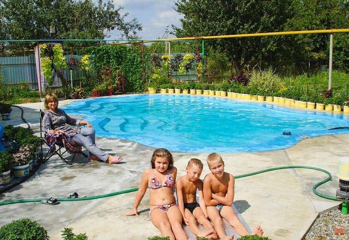 Как сделать бассейн на даче своими руками (20 фото)