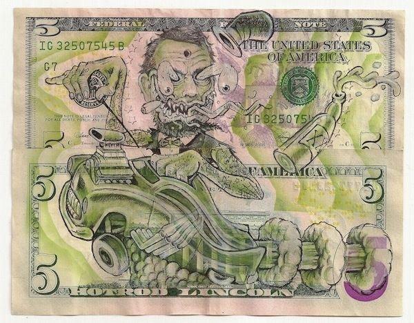 Приколы с долларами США (24 фото)